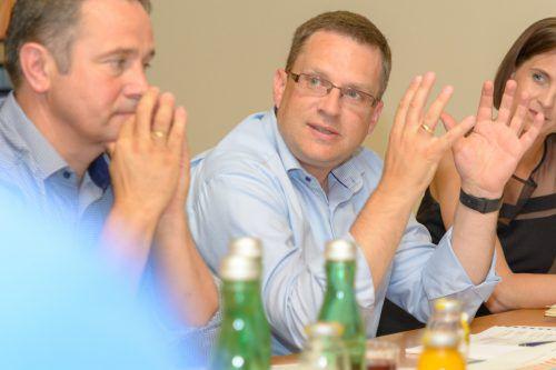 """Wöginger hält """"nicht viel davon, Bedingungen auszurichten"""".Zambanini"""