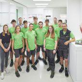 Startschuss. Die neuen Lehrlinge in den Vorarlberger Betrieben