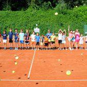 Tenniscamp im Steinbruch