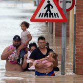 Nach verheerenden Regenfällen erneut Evakuierungen in Spanien