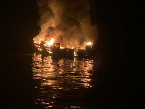 39 Menschen waren nach Angaben der Behörden an Bord des Schiffes. AFP