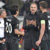 Eintracht fordert die Gunners