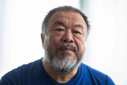 Ai Weiwei war ohne Wissen der Museumsleitung im Haus der Kunst aufgetaucht. afp