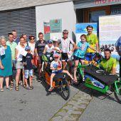 Österreich-Rundfahrt zum Schutz des Klimas