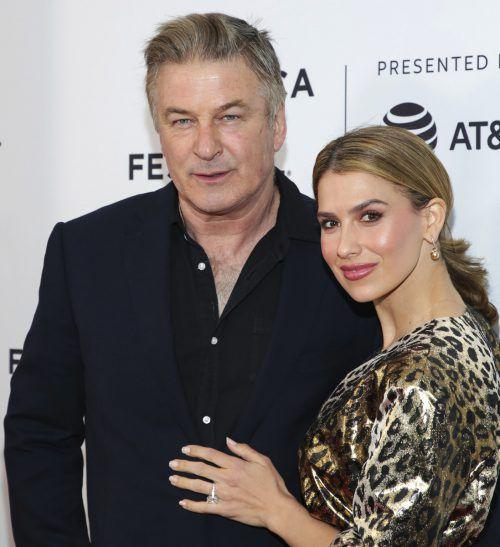 Alec und Hilaria Baldwin haben bereits drei Söhne und eine Tochter. AP