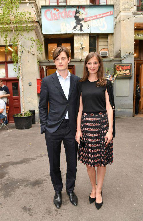 Alexandra Maria Lara und Sam Riley sind seit zehn Jahren verheiratet. AFP
