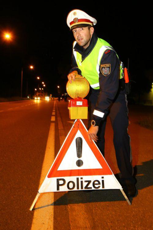 Am Wochenende nahm die Polizei in Feldkirch Stellung. hofmeister