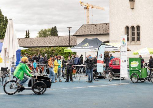 Auch der Kauf eines Lastenrades bei einem regionalen Händler wird durch die Gemeinde mit bis zu 600 Euro gefördertgemeinde