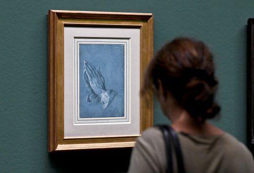 """Auch """"Die betenden Hände"""" Albrecht Dürers sind zu sehen. apa"""