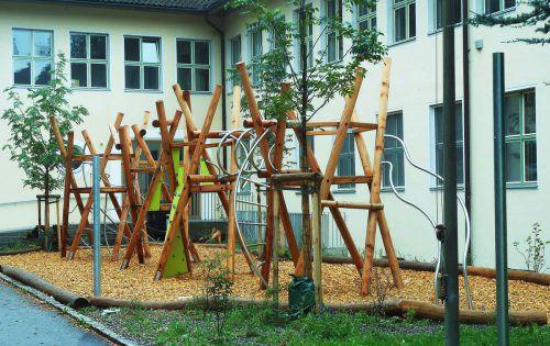 Auch im Umfeld der Schule Rieden hat sich in den Sommerferien einiges getan.