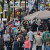 70.000 Besucher auf der Herbstmesse
