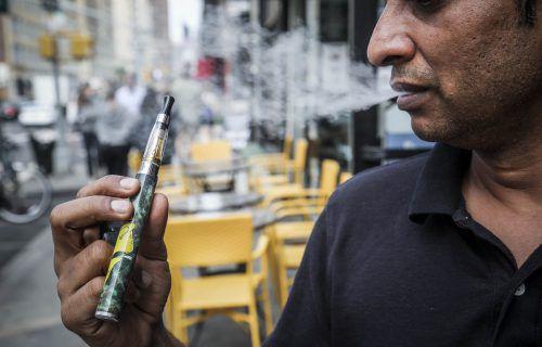 Ausgefallene Geschmacksrichtungen: Ein möglicherweise krebserregender Stoff wurde von Forschern in US-E-Zigaretten entdeckt. AP