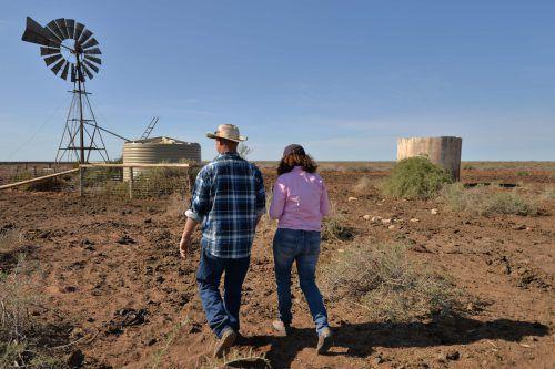 Australien erlebt derzeit die schlimmste Dürre seiner Geschichte. afp