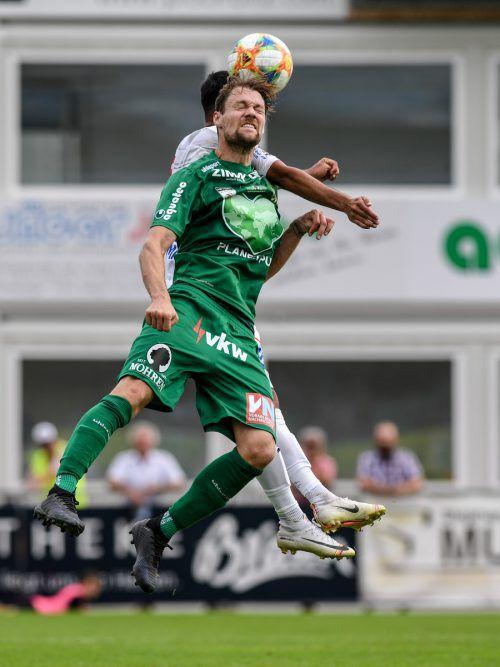 Austrias Mittelfeldmann Christoph Freitag trotzt den Problemen mit dem Schambein und wird gegen Amstetten auflaufen.Gepa