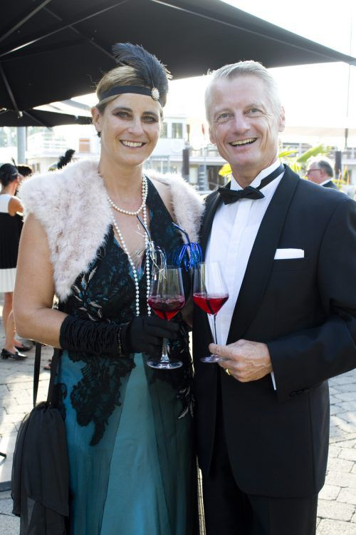 Baronin Stefanie und Baron Christof von Neukirch.