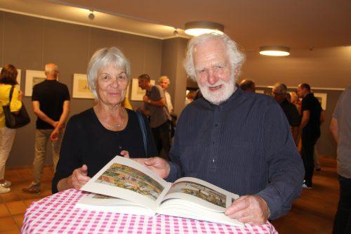 Begeisterte Besucher: Ida und Paul Pfleger.