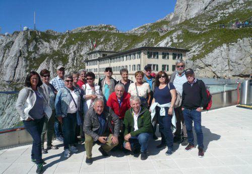 Bei herrlichen Sonnenschein genossen die Mitglieder des Sparclub Bädle kürzlich ihren Ausflug nach Kriens und Luzern. Verein