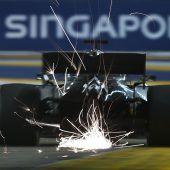 Die Formel 1 imSchwitzkasten
