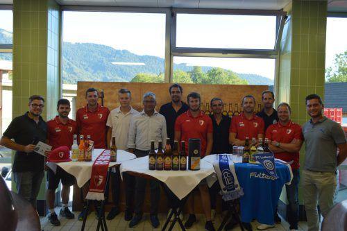 Bereits im Vorfeld der Begegnung luden die beiden Teams zu einer gemeinsamen Pressekonferenz in der Brauerei Egg ein.Verein