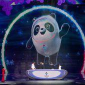 Ein Panda alsOlympia-Maskottchen