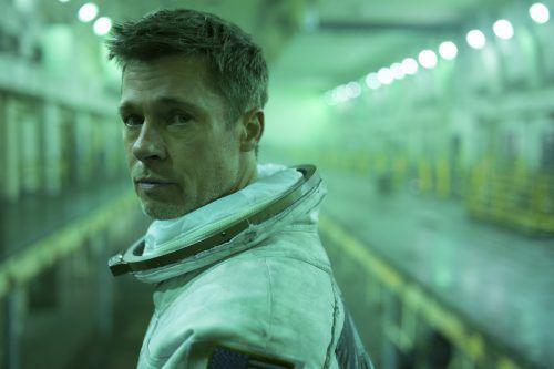 """Brad Pitt in seiner Rolle als Astronaut im Film """"Ad Astra - Zu den Sternen"""". AP"""