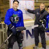 Eishockey-Exotenlernen in Lustenau