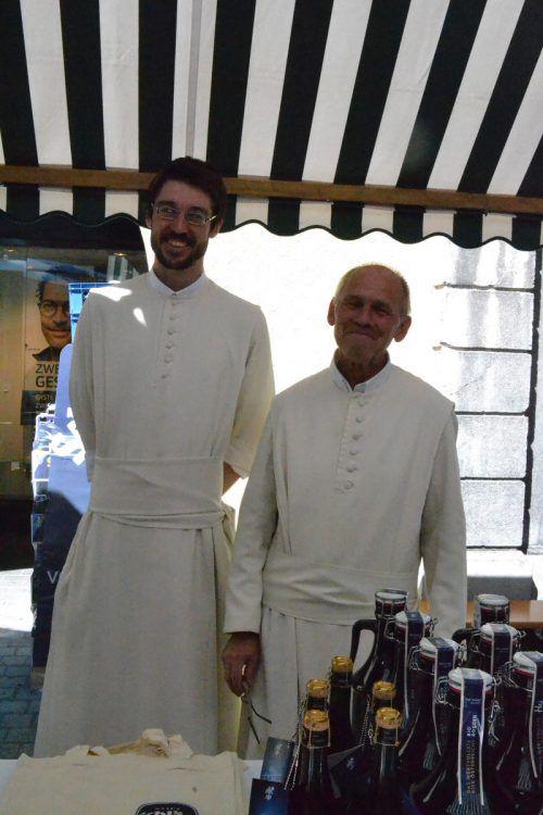 Bruder Josef und Bruder Gabriel vom Chorherrenstift Schlägl in Oberösterreich. bi