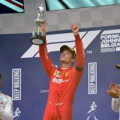 Leclerc mit erstem Formel-1-Sieg