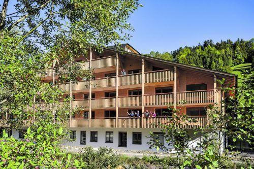 Das Haus Mittagsfluh steht im Fokus der Investition.Bad Reuthe