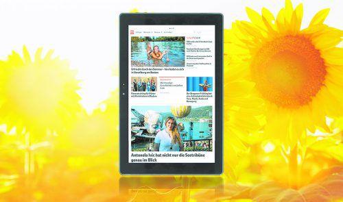 """Das Messeangebot """"VN-Digital + Terra Tablet geschenkt"""" ist gültig bis 8. September 2019 und solange der Vorrat reicht."""
