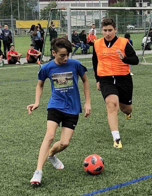 """Das OJAH-Fußballturnier findet auf dem Sportplatz """"Am Dämmle"""" statt. tf"""