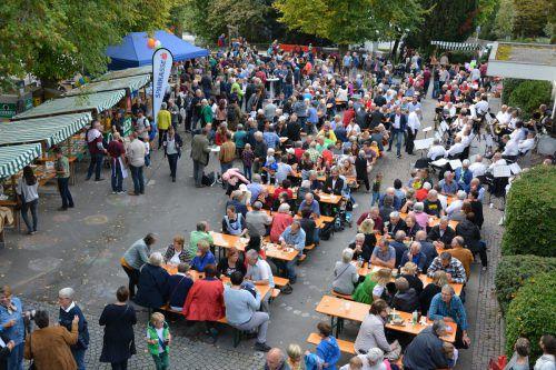 Das Oktoberdorf findet heute bereits zum 9. Mal statt. Veranstalter