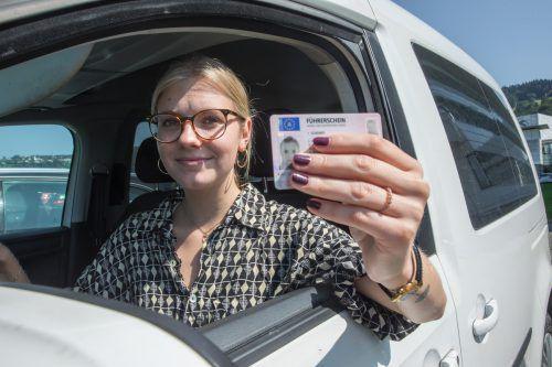 Dass sich die Kosten für den Führerschein läppern können, weiß auch Derya, die die Fahrerlaubnis bereits hat. VN/Steurer