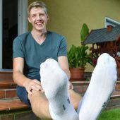 Mit Schuhgröße 57 ins Guinness-Buch