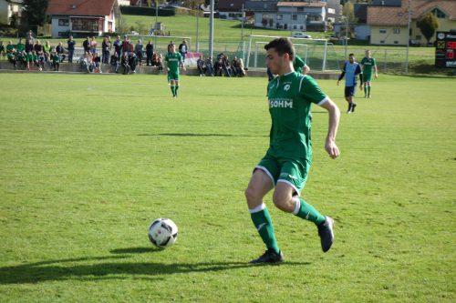 Der Alberschwender Pascal Berchtold erzielte das 1:0 gegen Bregenz.siha