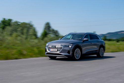Der Audi e-tron kann beim E-Mobilitätstag getestet werden. VN/Lerch