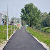 Neuer Radweg von Hard nach Lustenau