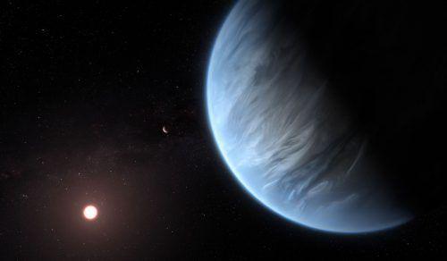 Der Exoplanet K2-18b ist rund 110 Lichtjahre von der Erde entfernt. AFP