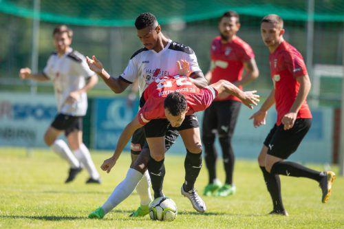 Der FC Schwarzach strauchelt sowohl in der Liga als auch finanziell.VN/Sams