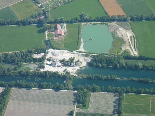 Vor Abstimmung: Das geplante Kiesabbauprojekt in Altach. Kopf