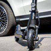 2020 geht Mercedes mit einem E-Roller an den Start