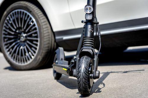 Der Mercedes unter den E-Scootern: Marktstart ist 2020.werk