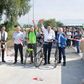Radweg sorgt für erhöhte Sicherheit