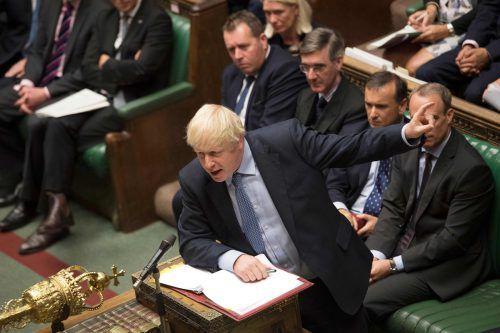 Der Premierminister kündigte die Neuwahlpläne in seiner ersten Fragestunde im Unterhaus an. AFP PHOTO/JESSICA TAYLOR/UK Parliament