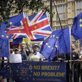 Brexit-Kraftprobe im Parlament