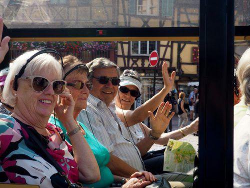 Der Seniorenbund Sulz-Röthis-Viktorsberg machte einen dreitägigen Ausflug mit abwechslungsreichem Programm ins Elsass. SB