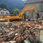 Bludenzer Bauhof liegt in Trümmern