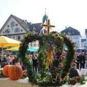 Erntedank am Marktplatz