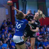 Erstes Damen-Derby der Saison geht an den SSV Dornbirn-Schoren