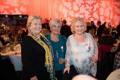Die drei Gründerinnen: Melitta Mair, Herlinde Marosch und Dagmar Ganahl.
